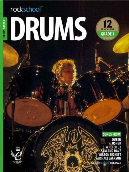 Picture of Rockschool Drums Grade 1 (2018) - book and music download